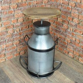 Milk Churn Bar Stool