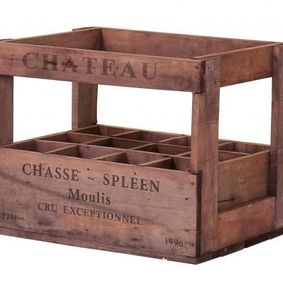 Vintage display wine crate. Château Chasse-Spleen