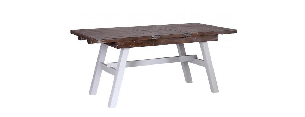 Bruges range: Dinning set one table two benches.Built from reclaimed wood.