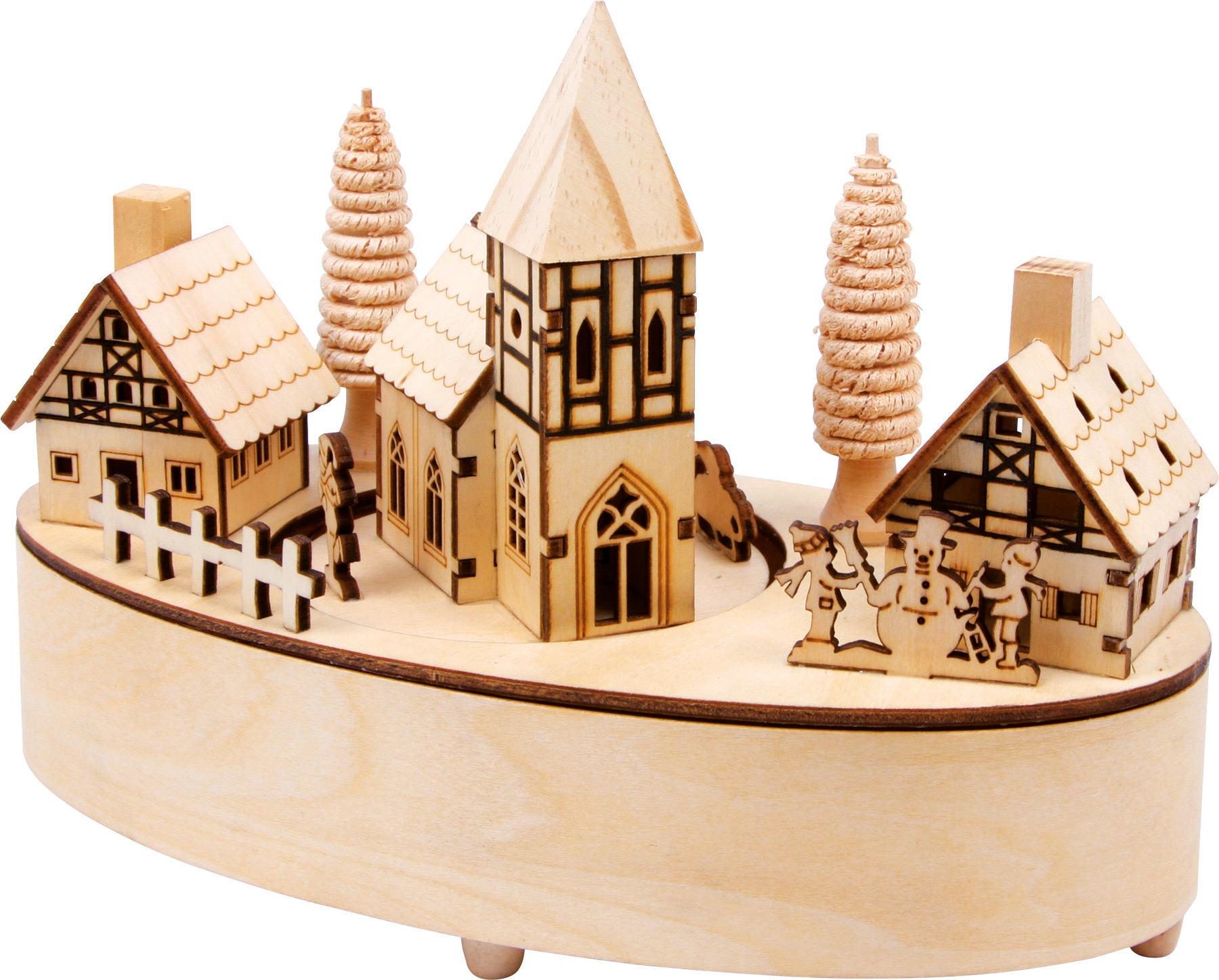 Authentic German product. Little village music box.