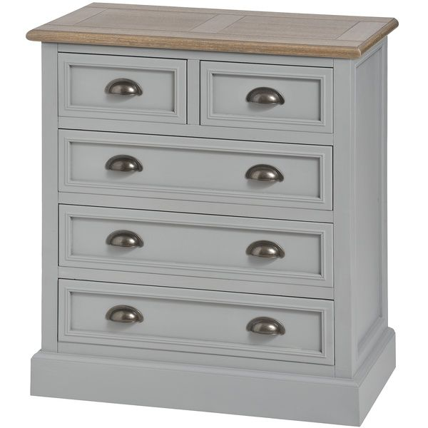 London bridge range:Grey five draw chest