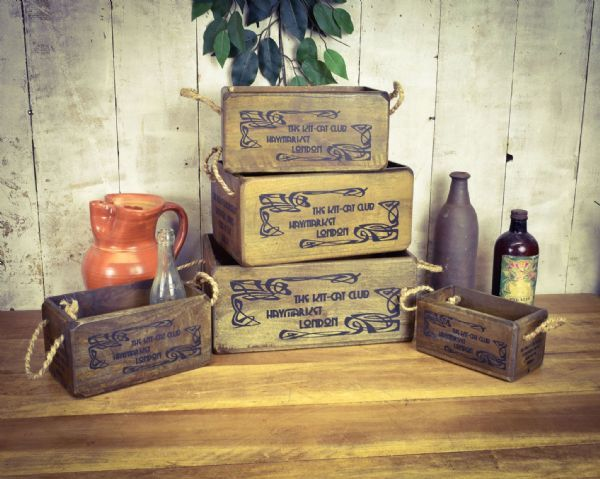 Kit Kat club reclaimed wooden