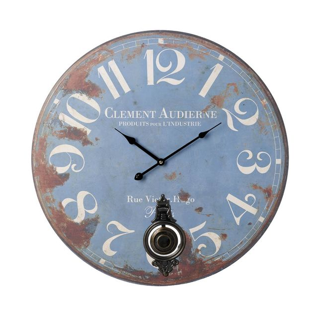 French Blue wall clock.