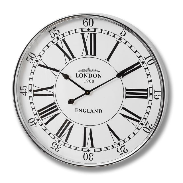 London wall clock.