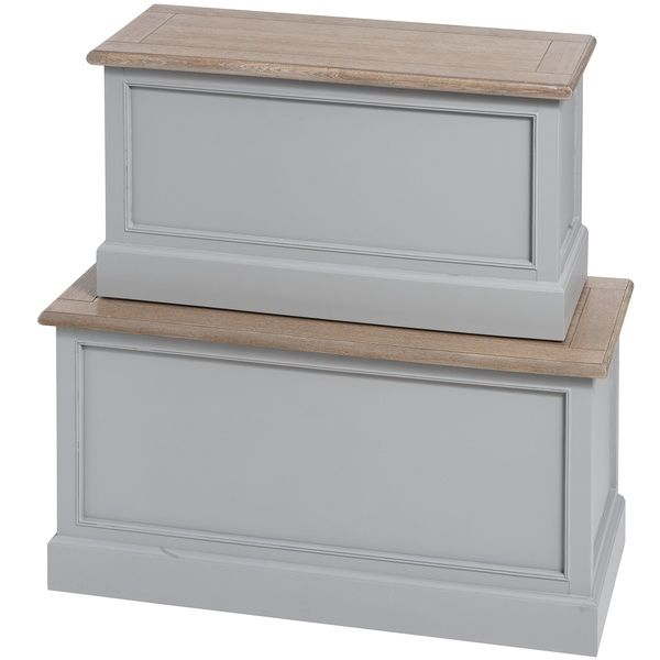 London bridge range: Grey blanket box set.