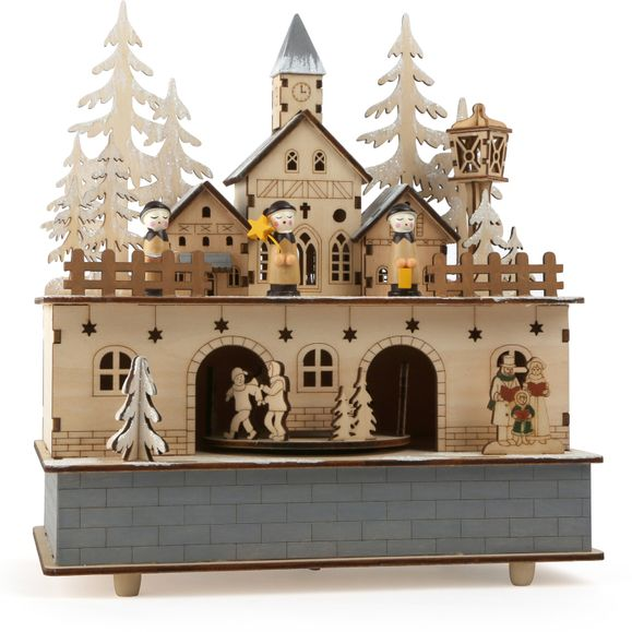 Little village music box.