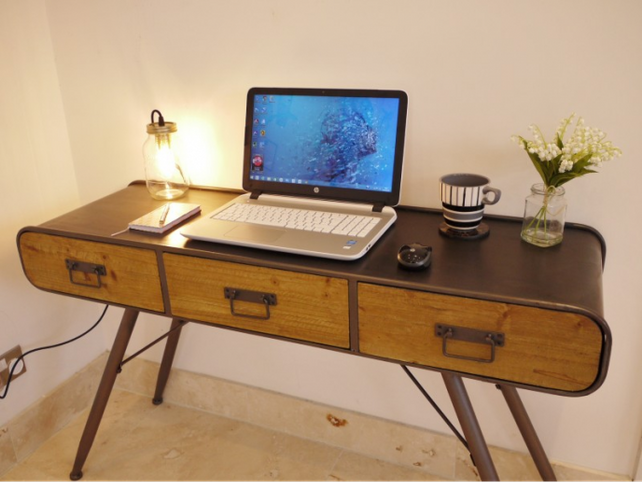 Loft: Retro style desk. Back soon