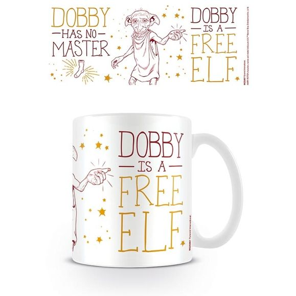 Harry Potter:Boxed Mug Dobby is free Elf