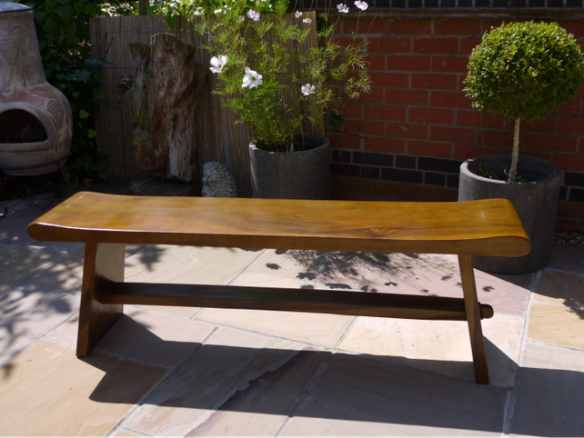 Long Sugar wood bench. SOLD OUT