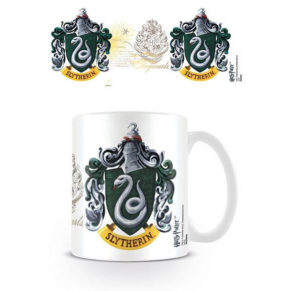 Harry Potter : Boxed Mug Slytherin Crest.