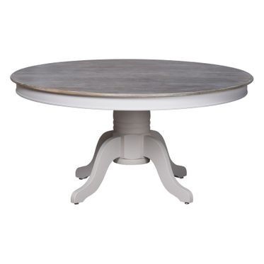 Vannes range: Large round dining table.