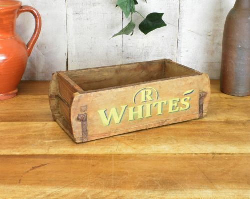 Real Antique reclaimed wooden brick mould. Boxes. R Whites.