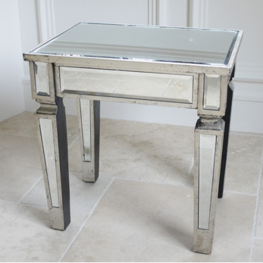 Provincial range :Mirrored small table.