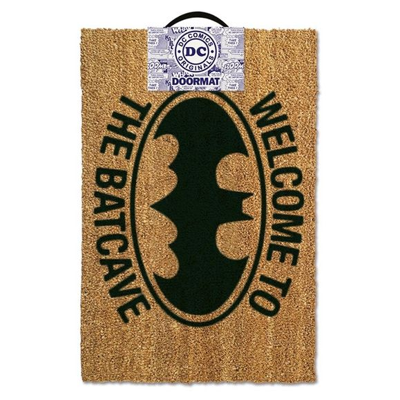 DC:Batman Doormat Welcome To The Bat cave