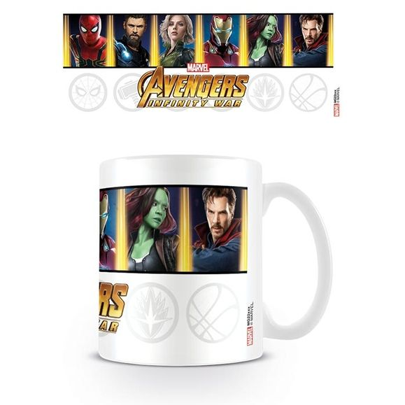 Marvel: Boxed Mug Infinity War